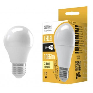 LED  sijalica EMOS BASIC A60 12W E27 WW