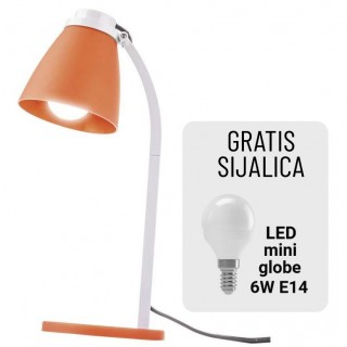 Stona lampa LOLLI  6W E14 NW ORANGE Z7597O